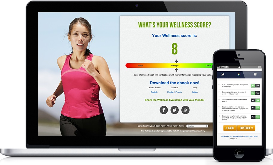 Free wellness evaluation